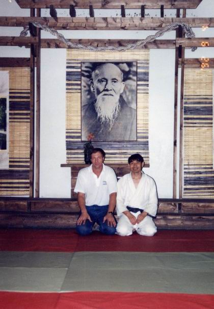 Sergey Kiselev and Mori-san