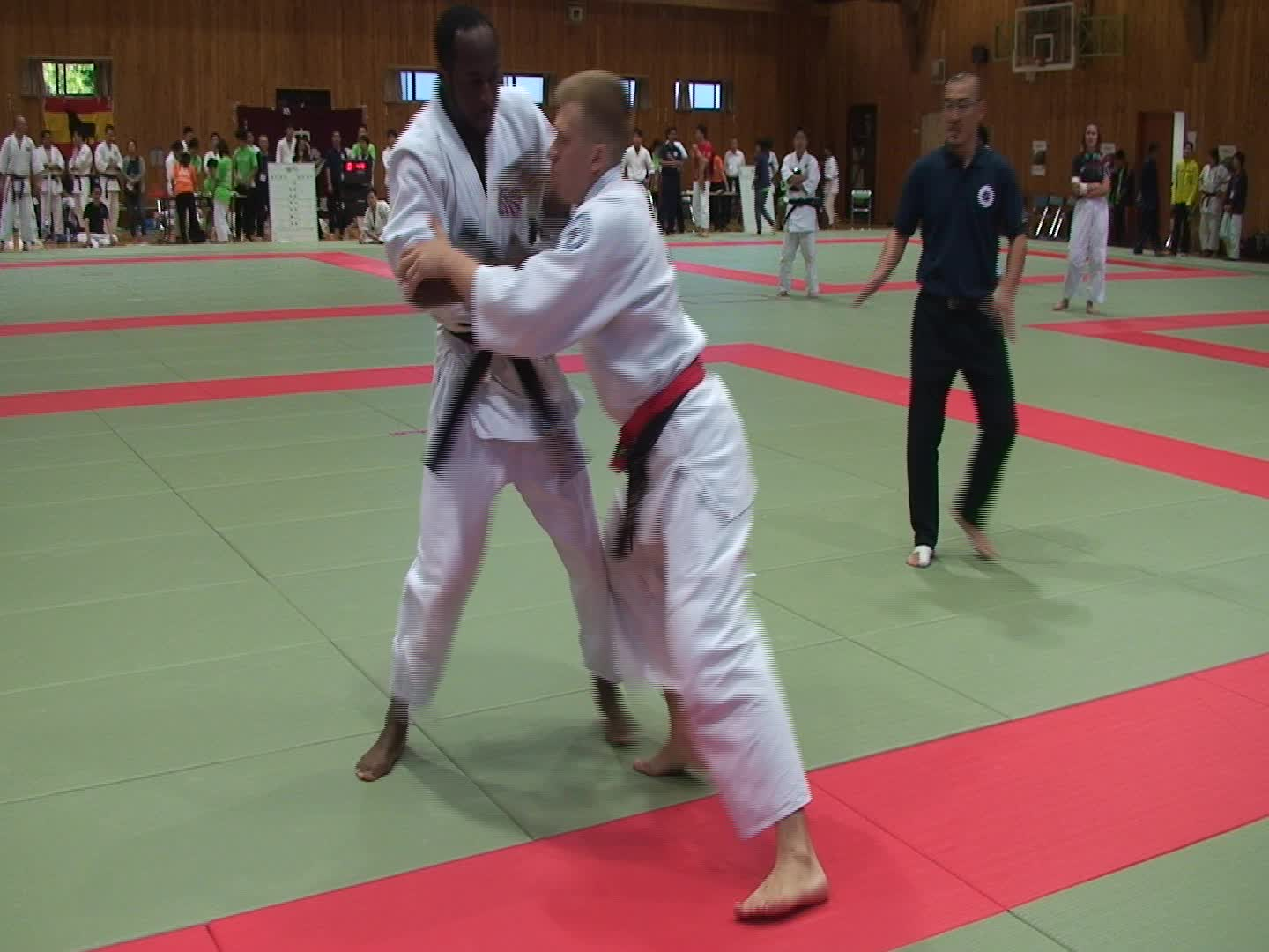 Winner of Tomiki aikido tournament