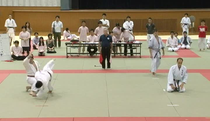 10-th International Tomiki aikido tournament